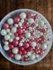 Посыпка Сахарные шарики разного диаметра микс 39, не жесткие, 100гр