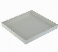Коробка 21*21*3см белая