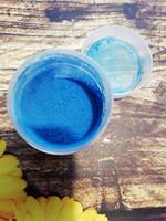 Краситель-пыльца цв. синий