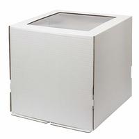 Коробка 30*30*30см с окном