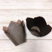 Капсула тюльпан коричневая 80*50мм