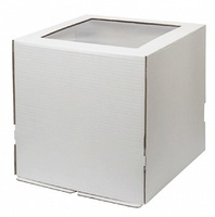 Коробка 33*33*30 с окном