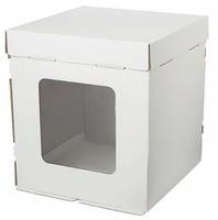 Коробка 35*35*40 с окном