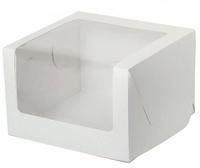 Коробка 23*23*15 см с панорамным окном