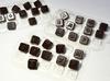 пластиковая форма для шоколада «Алфавит русский+цифры», 3 шт
