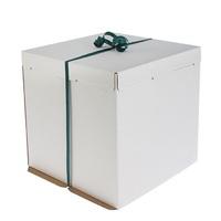 Кондитерская упаковка, короб белый 36 х 36 х 26 см