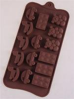 """Форма для изомальта и шоколада 21 х 11 см """"Детские игрушки"""""""