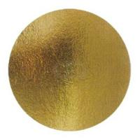 Подложка 20см, толщина 0,8мм, цвет золото