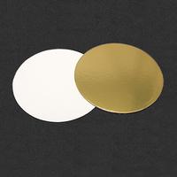 Подложка усиленная 26см, толщина 1,5мм, цвет золото-жемчуг