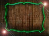 """Форма для пряника """"рамка12"""" цв. микс, длина 17см"""