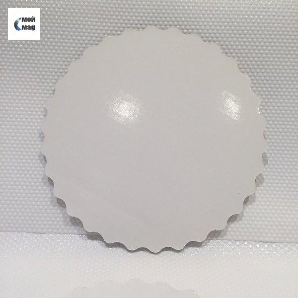 Подложка белая D26см, толщина 3мм
