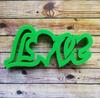 """Форма для пряника """"Love"""" цв. микс"""