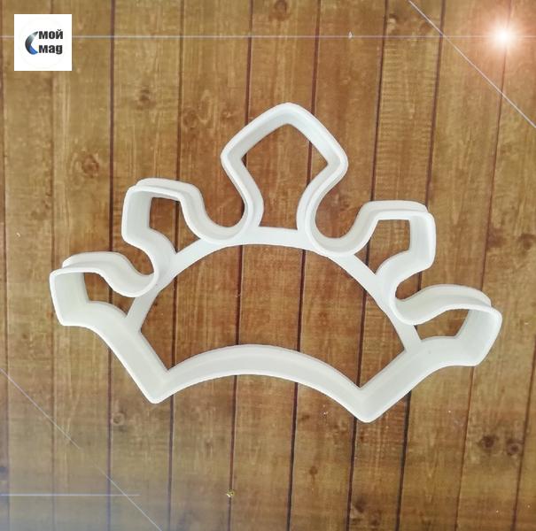 """форма для пряников """"корона7"""" цв. микс"""