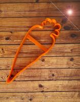 """Форма для пряника """"морковка2"""""""