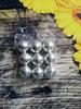 шарики  сахарные серебро 85