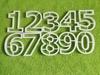 Цифры для пряников, высота 9см, набор