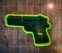 """Форма для пряника """"пистолет2"""" цв. микс"""