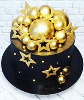 """силиконовый молд для изомальта и шоколада """"звезды """" размер 5.5х5.5см"""