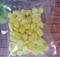 сахарные фигурки мини-безе желтые (размер 1см)