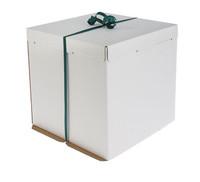 Кондитерская упаковка, короб белый 42х42х45см
