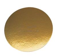 Подложка 26см, толщина 0,8мм, цвет золото