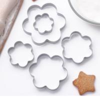 Набор форм для вырезания печенья «Ромашка», 5 шт, 7,8×7,8 см
