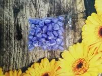 сердечки сахарные фиолетовые 98