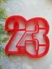 """Форма для пряника """"цифра 23"""""""