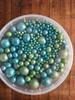 Посыпка Сахарные шарики разного диаметра микс 37, не жесткие, 100гр