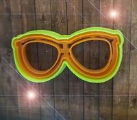 """Форма для пряника """"очки"""" цв. микс"""