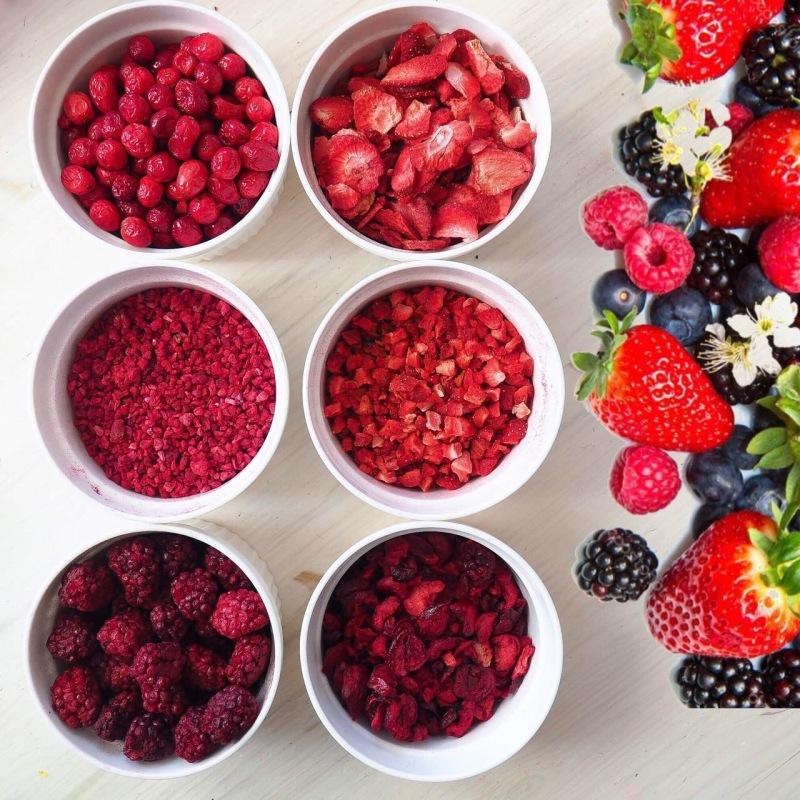 Сублимированные ягоды, фрукты
