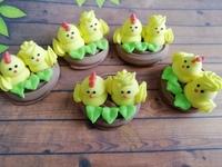 сахарные птенчики в гнезде