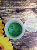 Краситель-пыльца цв. темно-зеленый