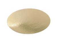 Подложка 22см, толщина 0,8мм, цвет золото