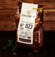 Шоколад молочный Callebaut 33,6%, 2,5 кг. Бельгия