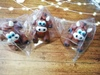 сахарная фигурка бычок цвет темно-коричневый
