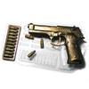 Пластиковая форма  Пистолет и патроны