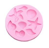 Молд силиконовый «Морской»
