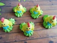 сахарные птенчики на травке2