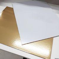 Подложка золото-жемчуг, 27 х 38 см, 3,2 мм
