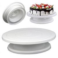 Столик для торта вращающийся 28х7 см