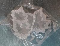 """силиконовый молд для шоколада, изомальта """"лист клена"""", размер 5, 4, 3см."""