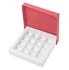 Коробка для 16 конфет красная