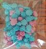 сахарные фигурки мини-безе розово-голубые (размер 1см)