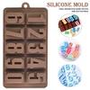 """силиконовая форма для шоколада, мастики, изомальта """"цифры"""""""