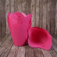 Капсула тюльпан розовая 80*50мм