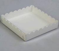 Коробка 13*13*3см с прозрачной крышкой