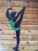 гимнастка (зеленая)