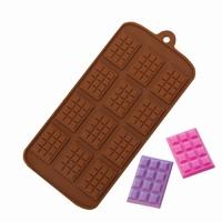"""силиконовая форма для шоколада, мастики, изомальта """"шоколадки"""""""