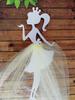 девочка с юбочкой2,  цв. желтый (фатин)